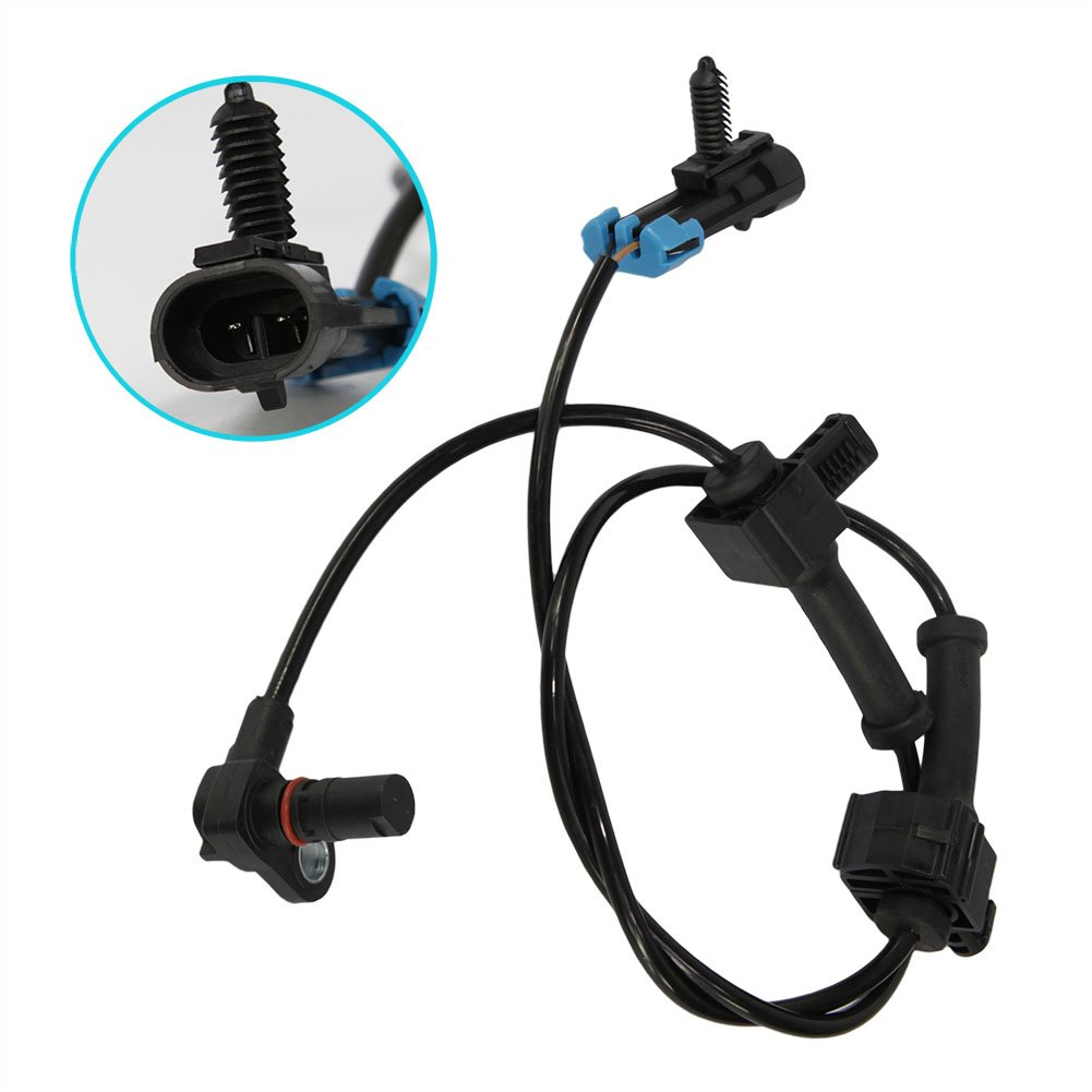Abs Wheel Speed Sensor Rear Left Right Fits 10384745 For 2000 Jeep Tj Wiring Connectors Chevrolet Chevy Silverado Gmc Sierra By Doicoo Automotive