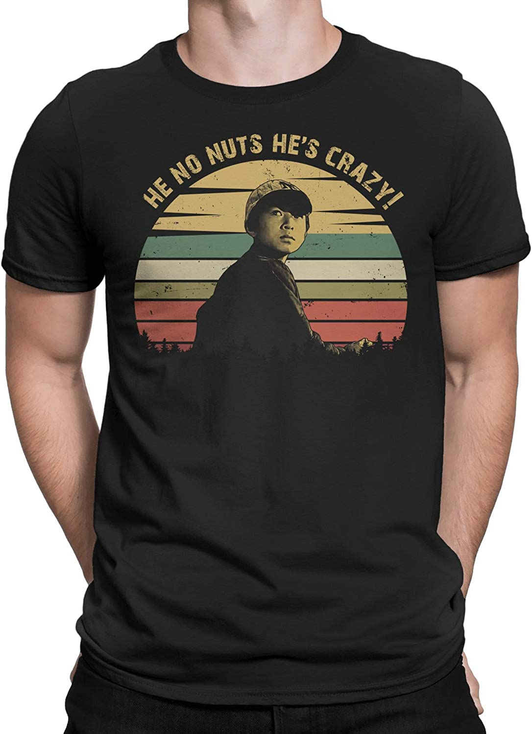 He No Nuts Hes Crazy Vintage T-Shirt