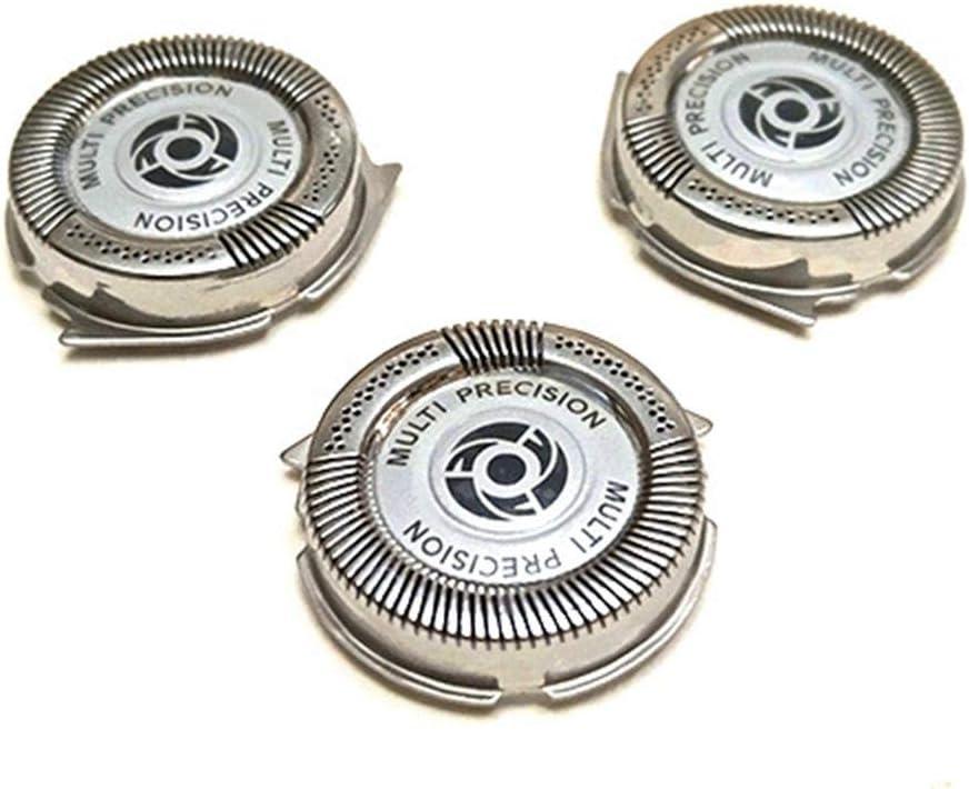 Cabezales de Afeitado, Cuchilla de Afeitar para Philips SH50 S5091 S5080 S5076 S5420 5082 Maquinilla de Afeitar, 3 Piezas