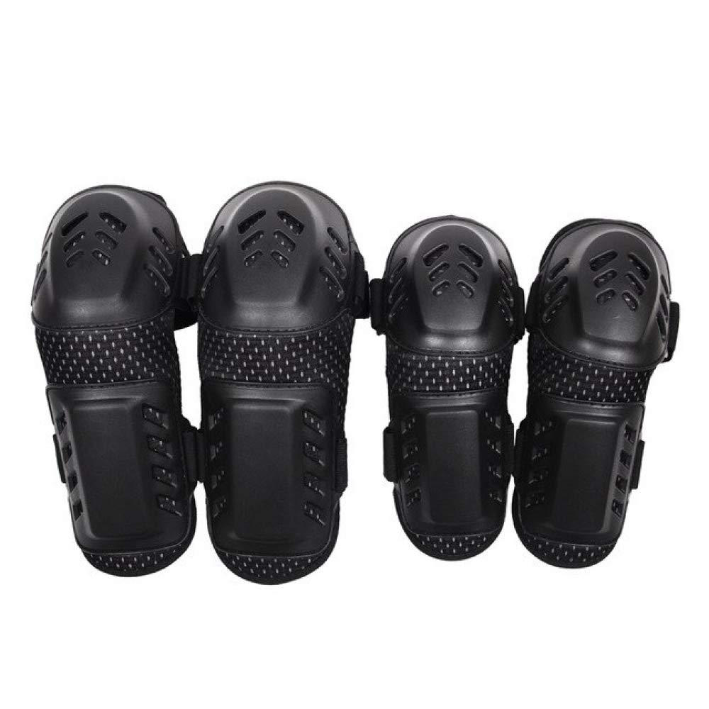 Beetle LLC - 4pc/set Motorcycle Motocross Off-Road Racing Protection Knee Pads Elbow Set Sports Safety Protective