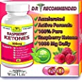 Pure Raspberry Ketones Fast Metabolism Diet Fresh 500mg 60 Caps, Best Max Burner Plus Lose Fat, Appetite Control, Quick Natural Healthy Womens Slim Belly Fat Pills Proven Rapid Weight Loss That Works