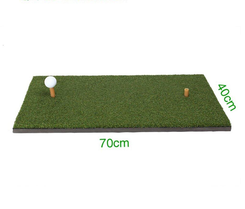 Zfggdゴルフ練習マット - ポータブルゴルフ練習場マット   B07MT7ZVB1