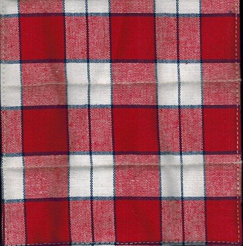 Longaberger Handle Gripper Picnic Plaid Fabric New In Bag