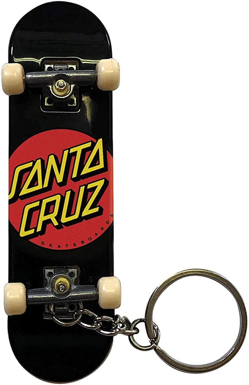 Santa Cruz Fingerboard Key Chain