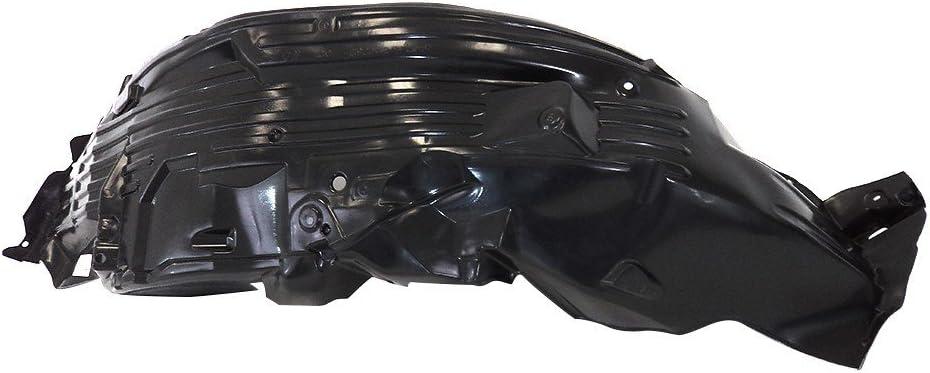 Titanium Plus Autoparts 2005-2012 Compatible With NISSAN Xterra Front Right Passenger Side splash guard splash shield fender liner Liner Apron NI1251132