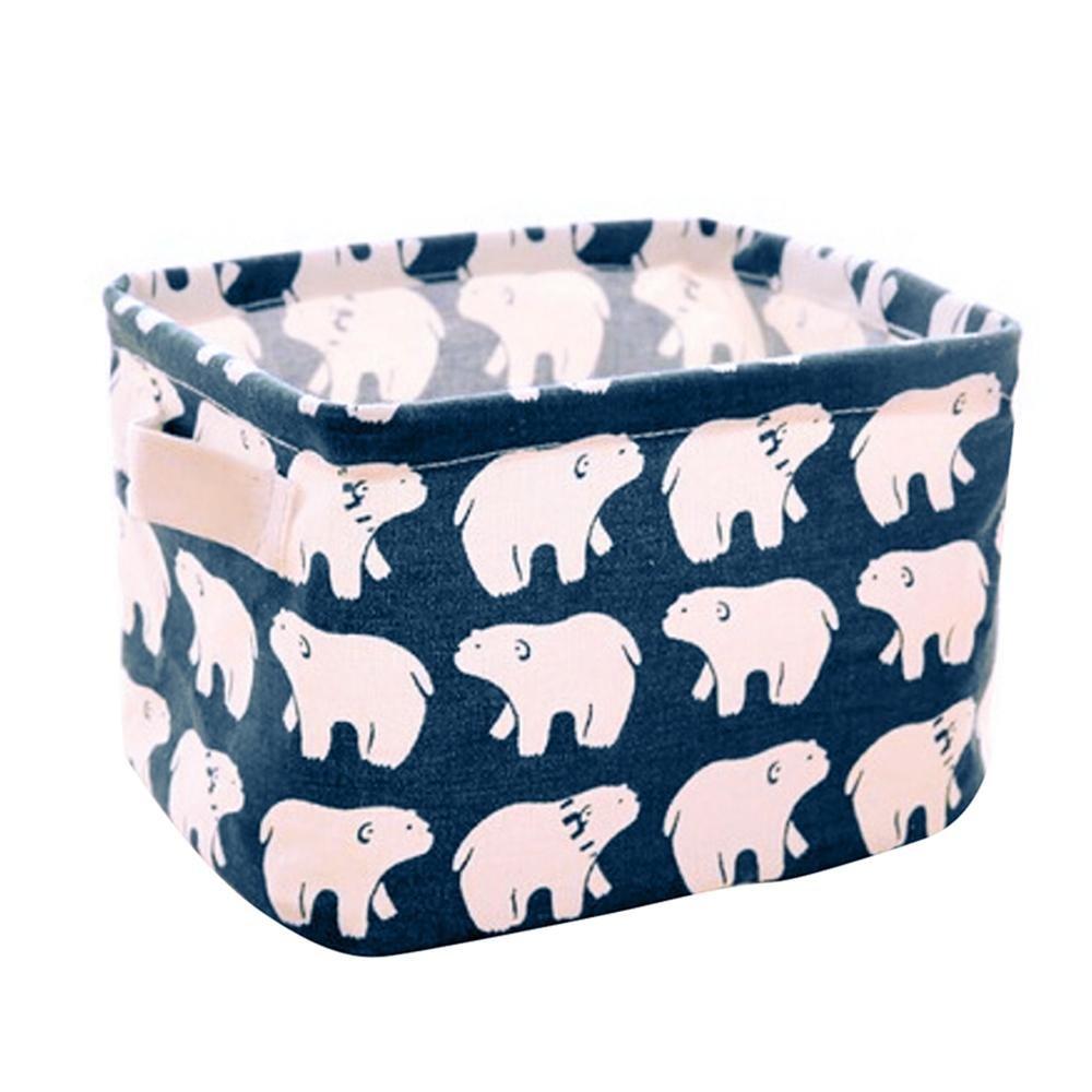 Fabric Caddy Organizer with Handle, Aolvo Lazy Toiletry Bag | Bucket Caddy Organizer | Diaper Caddy Basket | Bathroom Caddy | Makeup Caddy Bag for Clothes Storage & Toy Organizer