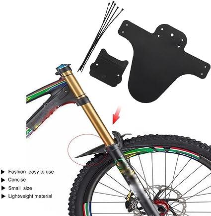1 Pair MTB Bike Mudguard For Mountain Road Bicycle Front+Back Fender Bike Fender