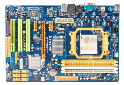 Biostar Socket AM3/AMD 770/DDR3/A&GbE/ATX Motherboard A770E3
