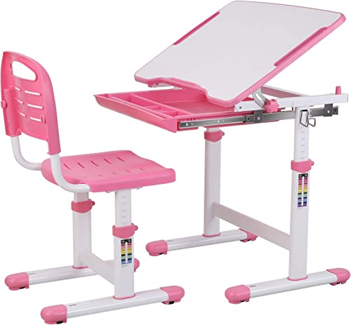POTBY Kids Desk and Chair Set