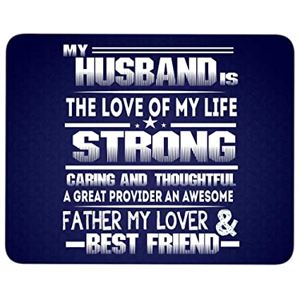 cbdee8ad33f Image Unavailable. Image not available for. Color: My Husband is The Love  of My Life ...