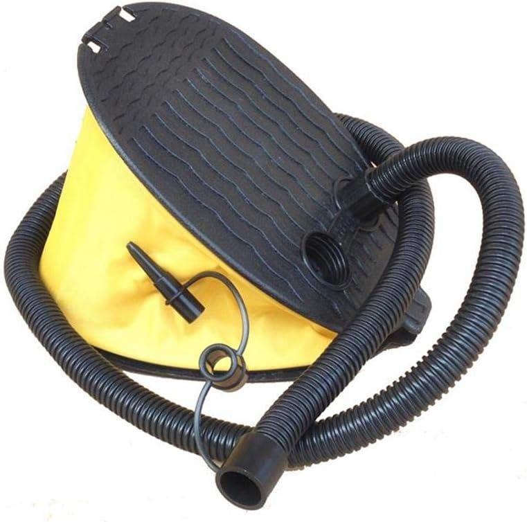 ZFXXN Bomba de Pedal Bellows 3L, 3 adaptadores Que se Ajustan a la mayoría de los colchones de Aire, válvulas de Juegos de Billar, natación, Waterpolo