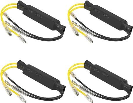 12V 21W LED Resistor Power Resistor Load Resistor Motorcycle Turn Signal Light Indicator Light 4pcs