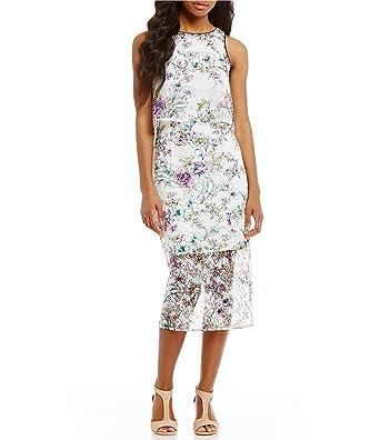 50ea45bb924 Antonio Melani Darla Lace Popover Dress (4) at Amazon Women s ...