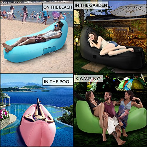 Air Sofa Rental: Inflatable Lounger, EocuSun Inflatable Couch Air