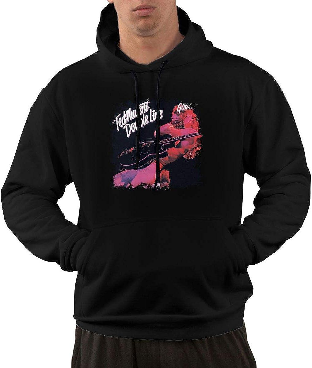 Te Nugen#Doubl Liv Gonz Mens Hooded Pocket Sweater