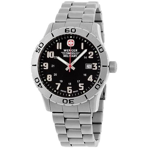 super popular b806e e11b2 79246 Wenger Swiss military de titanio granadero del hombres ...