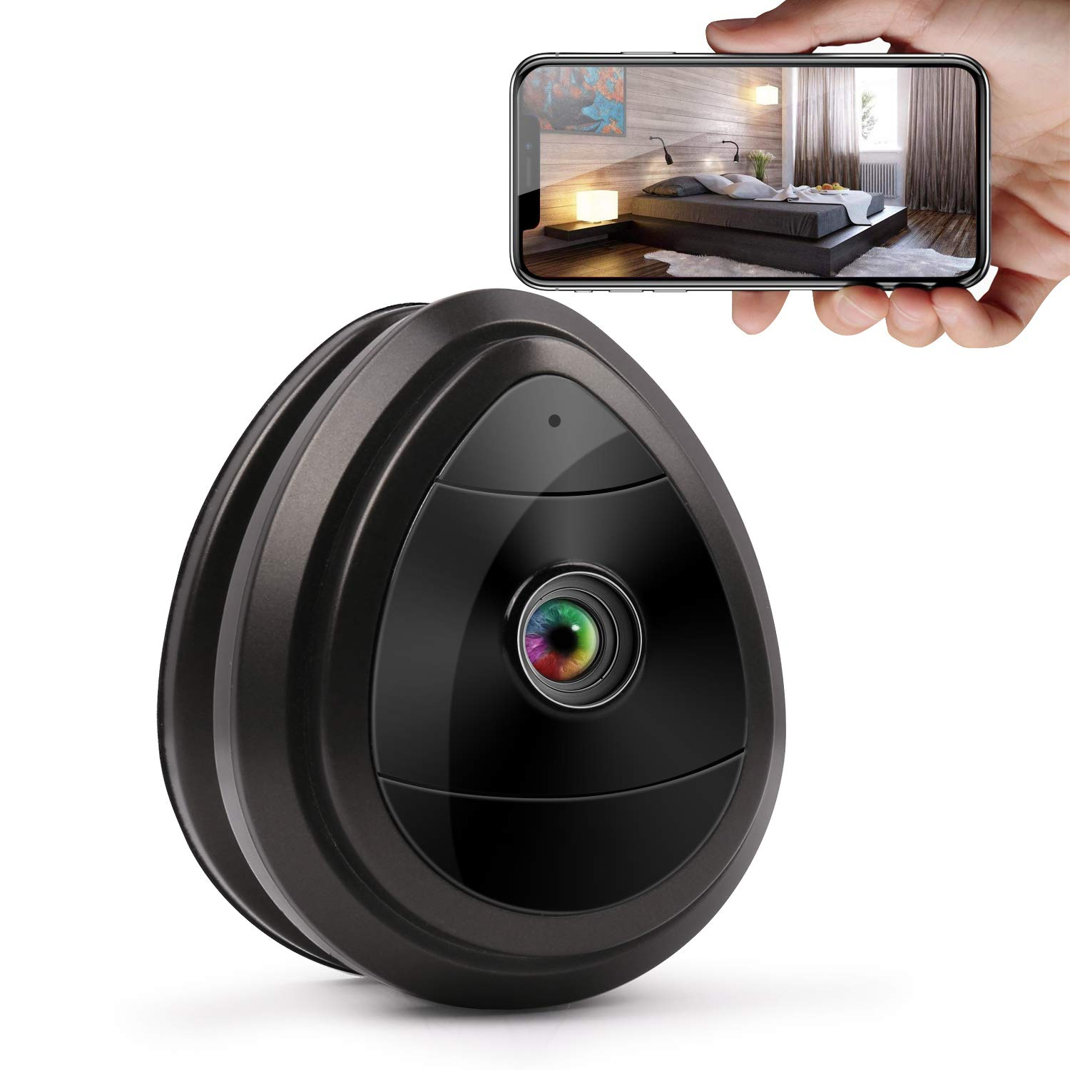 Wireless IP Camera, Home Surveillance Security Camera System with Motion Email Alert & Motion Detection for Home/Office/Baby/Nanny/Pet Monitor by Pop V