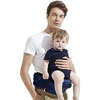 Bebamour Lightweight Baby Toddler Hip Seat Carrier Baby Waist Seat ,Dark blue