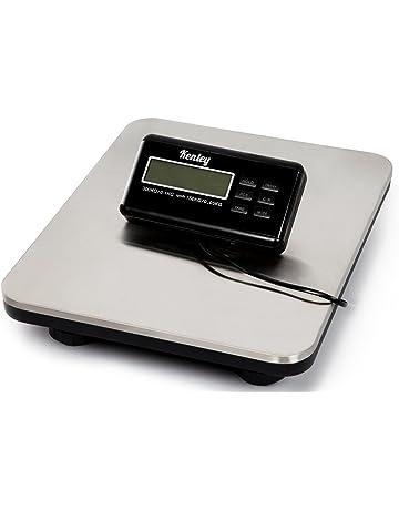 Kenley Paquete – Báscula digital hasta 150 kg/300 kg – Balanza digital Acero inoxidable