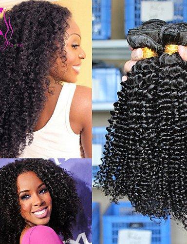16 18 Bouclés JffPéruviens La Cheveux ProduitsPéruvienne De Vierge Extensions Des 3pcs Crépus Reine Tl3FJcK1