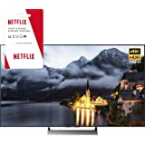 Sony XBR-55X900E 55-inch 4K HDR Ultra HD Smart LED TV (2017 Model) w/1 Month Netflix Subscription