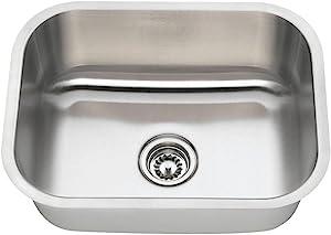 2318 16-Gauge Undermount Single Bowl Stainless Steel Sink