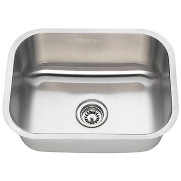 2318 16 Gauge Undermount Single Bowl Stainless Steel Sink