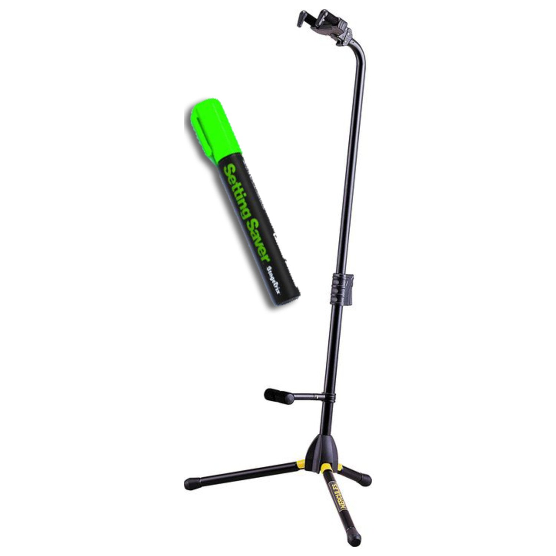 Hercules GS412B Single A/G Guitar Stand w/ Setting Saver Pen