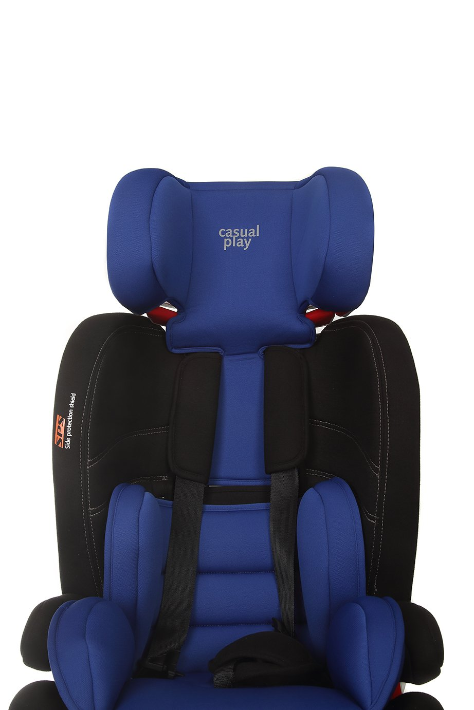 Casualplay Nauta Fix, Silla de coche grupo 1/2/3 Isofix, azul