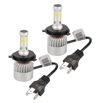 XCSOURCE 20000LM 200W CREE LED faro del coche H4 bombilla de halógeno incorporado en el ventilador