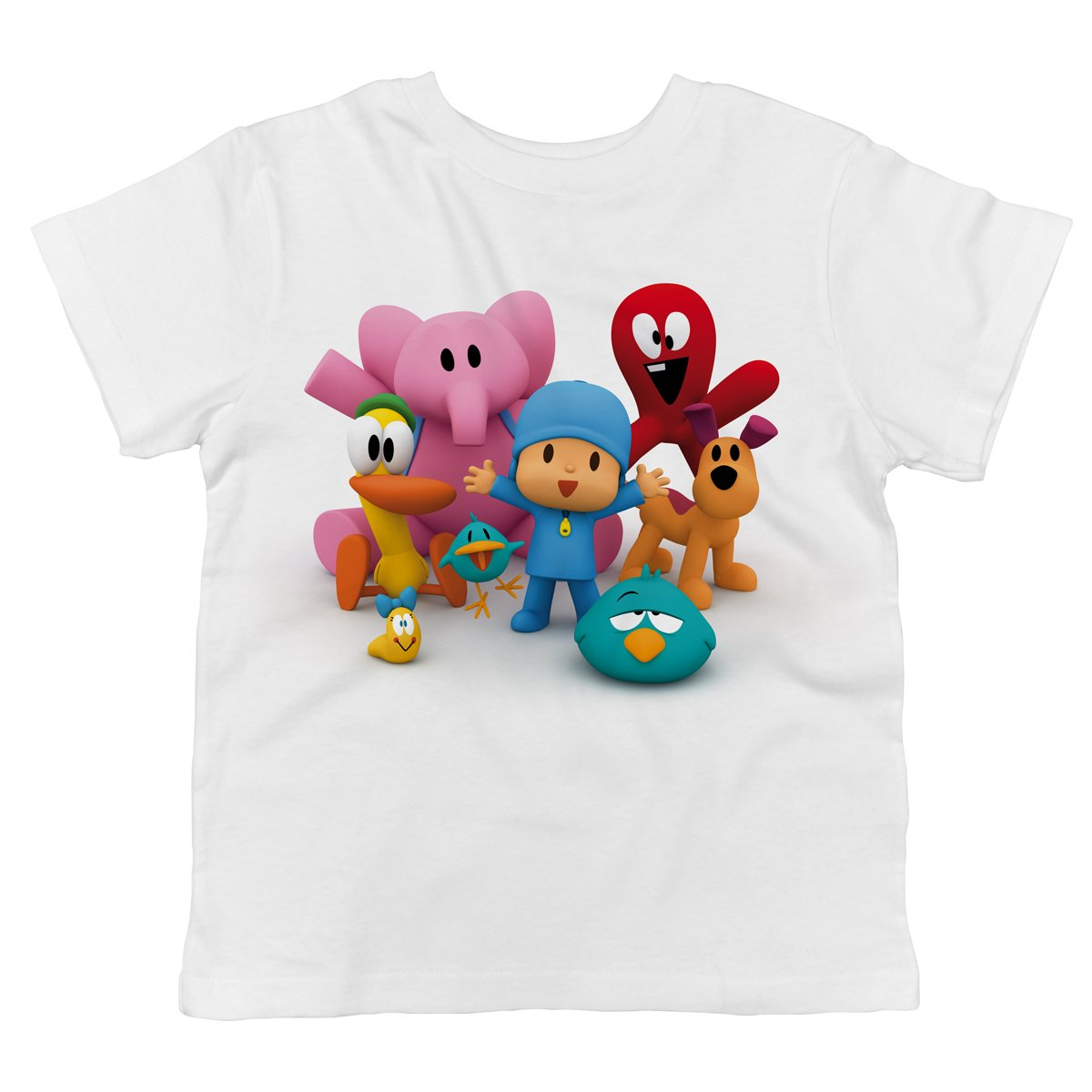 POCOYO - Pocoyo and All of His Friends Together 100% Cotton Toddler T-shirt 107545