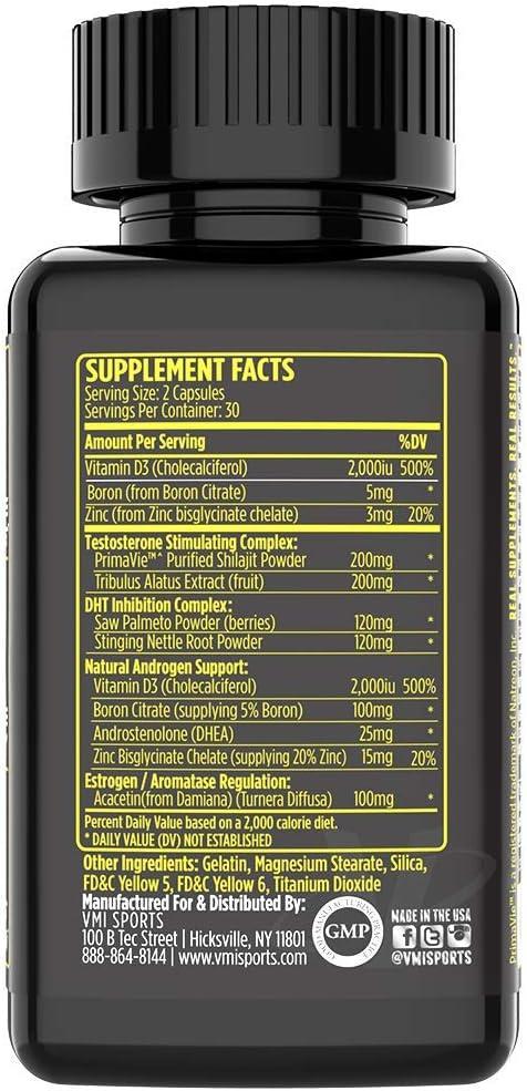 Androgen-xr pct ingredients