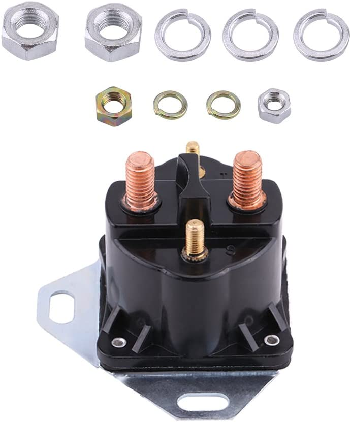 E-Series /& Excursion Diesel Glow Plug Glowplug Relay Solenoid 7.3L Powerstroke Diesel for Ford 7.3L F-Series