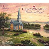 Thomas Kinkade Painter of Light with Scripture 2016 Deluxe Wall Calendar