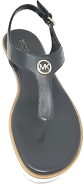 Michael Kors Womens Terri Thong Leather