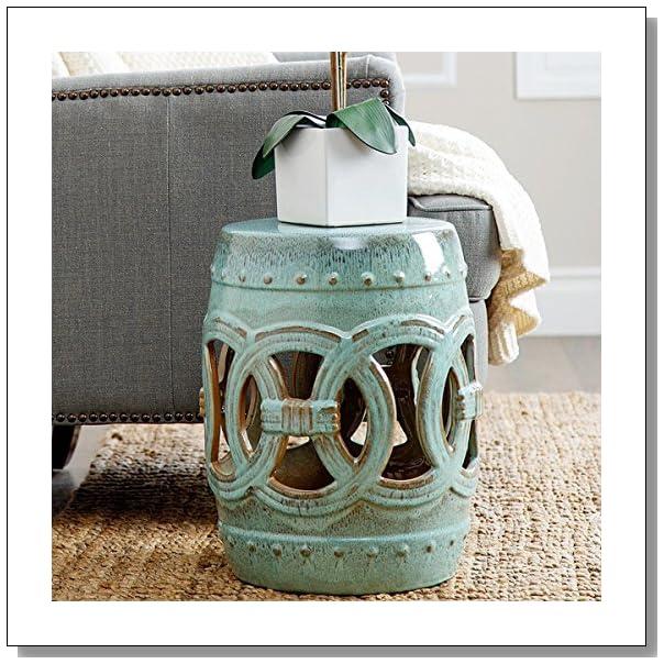 Cool Ideas For Using Garden Stools Indoors Blue Crystal Sky Machost Co Dining Chair Design Ideas Machostcouk
