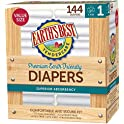144-Count Earth's Best TenderCare Disposable Baby Diapers (Size 1)