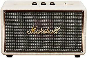 Marshall Bocinas Estéreo, Bluetooth 4.0, 41W, color Crema