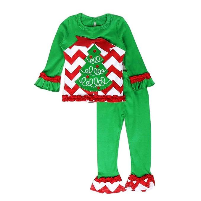 Transer - Pijamas enteros - para bebé niña verde verde 24 meses