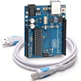 UNO R3 Atmega328p Atmega16u2 Development Board with Hi-Speed USB Cable Compatible