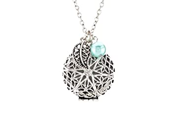 Amazoncom Essential Oil Diffuser Necklace Jewelry With 4 Leather