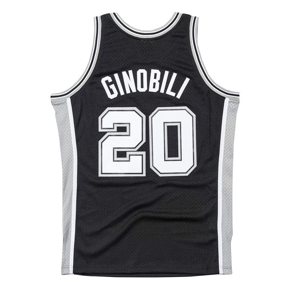 b65b6d1f5485 Amazon.com   Mitchell   Ness Manu Ginobili San Antonio Spurs 2002-03 Road Swingman  Jersey (XX-Large)   Sports   Outdoors
