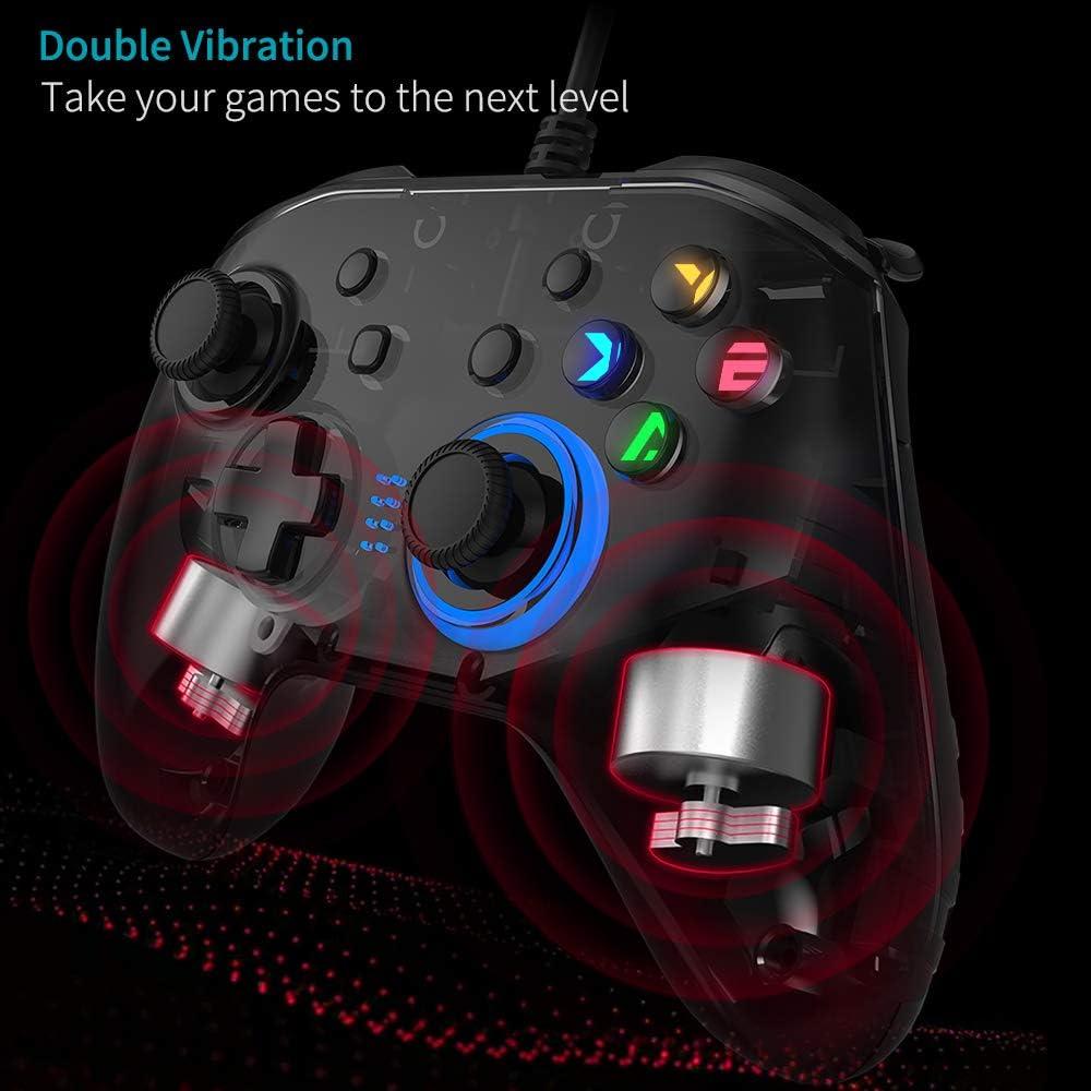 Joystick Gamepad Doble Vibración