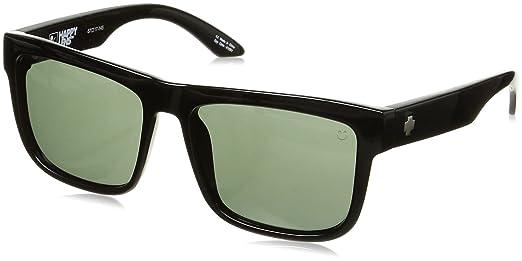 Spy Sonnenbrille Discord, Soft Matte Black-Happy Grey Green, One Size, SPYGLA_Dis