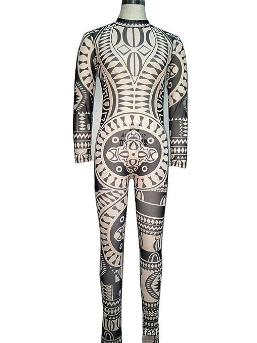 XGG Tribu Mujeres Atractivas del Tatuaje Retro Africana Impresión ...