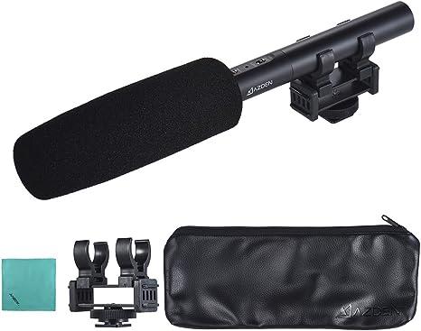 Azden SGM-X Supercardioid Shotgun Condenser Microphone with Mini Output for DV Cams