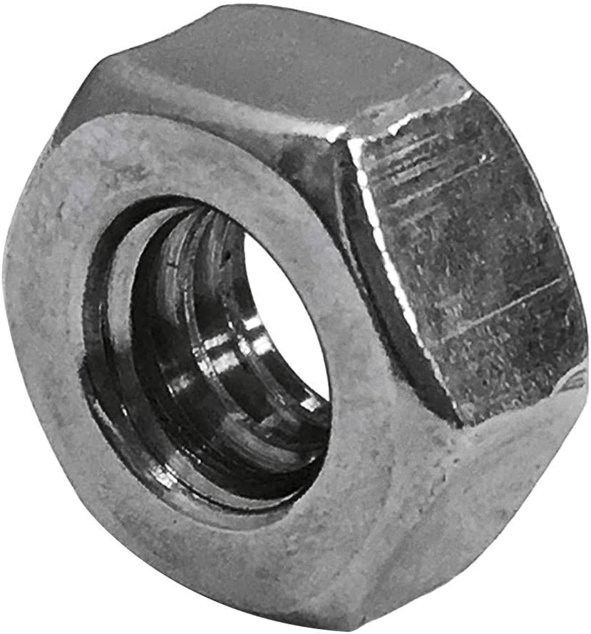 20 Unc Left Hand Thread Hex Nut Type 316 Stainless Steel Mh Global Set Of 20 Pieces Size 1 4 Inch