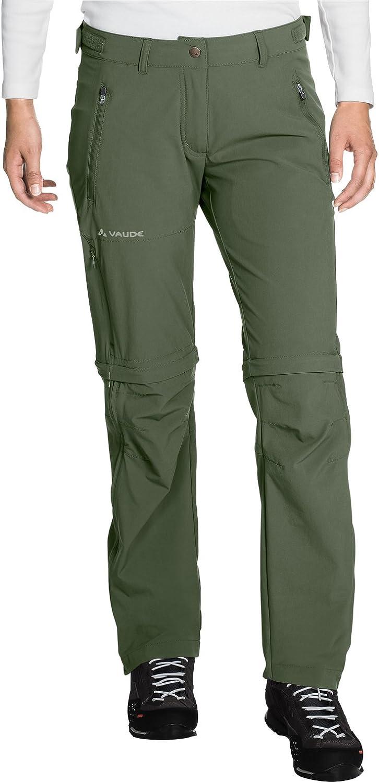 Womens Womens Farley Stretch ZO T-Zip Pants Vaude Womens Farley Stretch Zo T-Zip Pants
