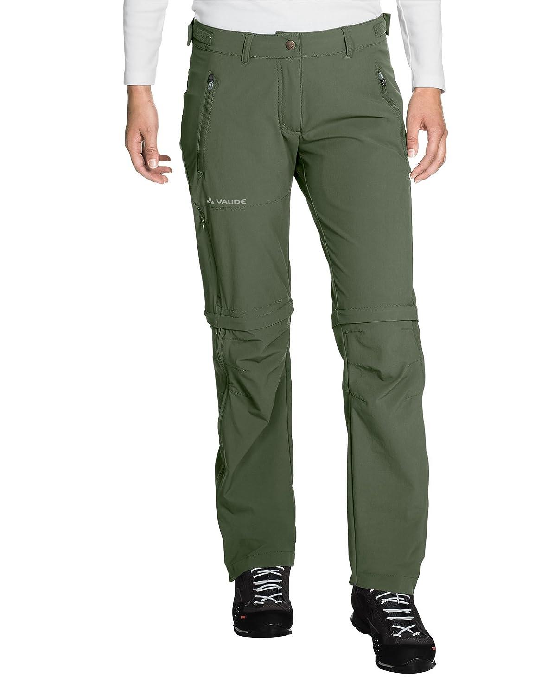 VAUDE Women s Farley Stretch K230-ZO T de Zip Pantalones