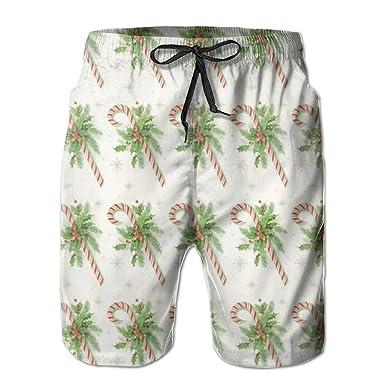 XUJ YOGA Mens Summer Swim Trunks Sports Surfing Shorts Elastic Waistband Swimwear